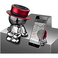 aokway 車載スマホホルダーダッシュボードクリップマグネット携帯ホルダーiphone スタンド可愛360度回転|創意…