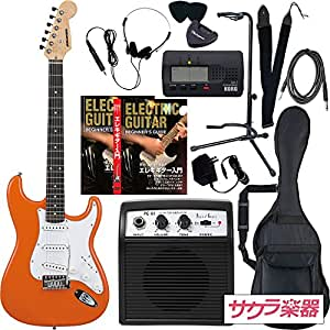 SELDER セルダー エレキギター ストラトキャスタータイプ サクラ楽器オリジナル ST-16/OR リミテッドセットプラス