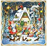 ドイツ製 アドベントカレンダー サンタクロースとプレゼント(11710)