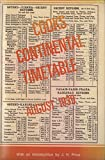 Cook's Continental Timetable, August 1939