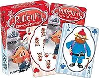 [アクエリアス]Aquarius Rudolph The Red Nose Reindeer Playing Cards 52397 [並行輸入品]
