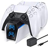 PS5 Dual Controller Charger Docking Station for Playstation 5 PS5 Controller, OIVO Fast Charging Dock Station with LED Indica
