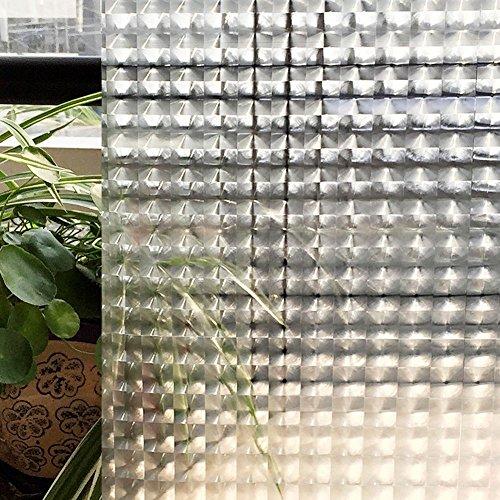 RoomClip商品情報 - CottonColors(コットンカラーズ)3D窓用フィルム 浴室目隠しシート 断熱/紫外線カット 無接着剤 再利用可能 プライバシーガラスフィルム(90 x 200Cm)[夢の間021]