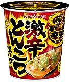 ポッカサッポロ 辛王 激辛とんこつスープ カップ18.9g×6個