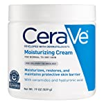 CeraVe Moisturizing Cream, Daily Face and Body Moisturizer for Dry Skin, 19 Ounce