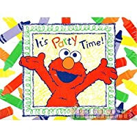 Sesame Street Elmo's World Invitations w/Envelopes (8ct) [並行輸入品]