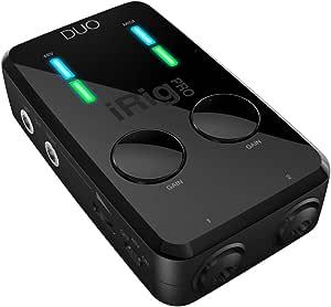 IK Multimedia iRig Pro DUO  高音質オーディオ/MIDIインターフェイス【国内正規品】