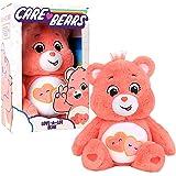 "Care Bears - 14"" Plush - Love-A-Lot Bear - Soft Huggable Material!"