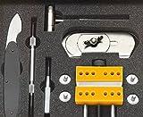 ジャパンホビーツール 時計修理工具セット(メンテナンスツールキット) ブラック 箱なし