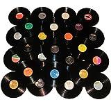 VinylShopUS - Lot of 12 Vinyl Records for Crafts & Decoration Artwork for Party Decor Artist Studio Vintage Look (Lot of 10)