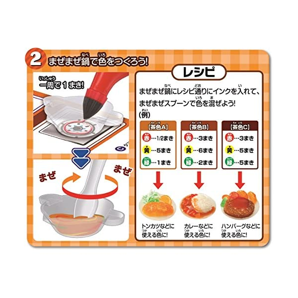 3Dドリームアーツペン 食品サンプルセット(4...の紹介画像5