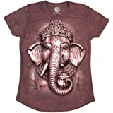 The Mountain Junior's Big Face Ganesh Graphic T-Shirt