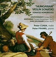 Hungarian Violin Sonatas / Violin Sonata Op 21