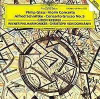 Glass: Concerto For Violin And Orchestra / Schnittke: Concerto Grosso No. 5 for Violin, an Invisible Piano & Orchestra (1993-01-25)