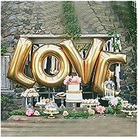 40インチ 特大 アルファベットLOVE風船 バルーン 結婚式 誕生日 告白 プロポーズ パーティー 二次会 記念日 カップルの撮影の小道具 飾り付け