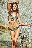 KHONGBOON コンブン 正規販売店 最新モデル 上下セット セクシービキニ 水着 リバーシブル スイムウェア 大人女子 (S)