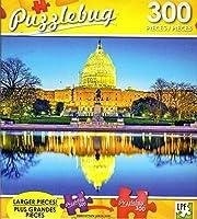 The Capitol Building, Washington D.C. - 300 Large Pieces Jigsaw Puzzle - Puzzlebug - p 003