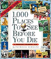 1000 Places to See Picture-A-Day Calendar 2018 [14 x 12] [並行輸入品]