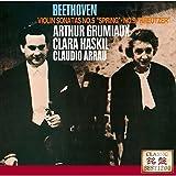 ベートーヴェン:ヴァイオリン・ソナタ第5番《春》&第9番《クロイツェル》