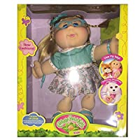 "Cabbage Patch Kids 14 ""ガール、ヴィンテージ、ブロンドHair with青Eyes人形withキーfor Adopimals"