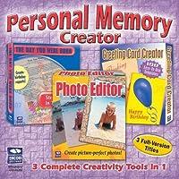 Personal Memory Creator 3-in-1: The Day You Were Born/Photo Editor/Greeting Card Creator (Jewel Case) [並行輸入品]