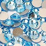 【全122色】スワロフスキー ラインストーン 小分け 100粒 ~ 【レギュラーカラー1】 ネイル デコ、レジンに/ss 5(100粒)アクアマリン