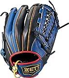 ZETT(ゼット) ソフトボール グラブ (グローブ) リアライズ オールラウンド 右投用 ブルー×ブラック(2319) LH BSGB52820