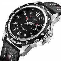 スポテレン SPOTALEN アナログ腕時計 ファッション カジュアル おしゃれ クォーツウォッチ 日付表示 30m防水 ST004 メンズ