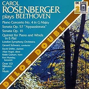 Carol Rosenberger Plays Beethoven