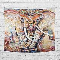 ビーチタオルビーチ毛布をハンギングインドゾウホームシリーズの印刷ホームタペストリーウォールハンギングタペストリー壁掛け HthlyP (Color : 14, Size : 150x130cm)