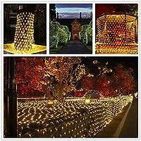 ネットライト屋内ライトストリングパーティークリスマスウェディングホームガーデン8パターン点滅装飾10 * 8M - 2000LED妖精ライト