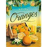 オレンジ Oranges / ブリキ看板 TIN SIGN