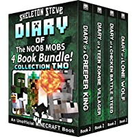 Diary Book Minecraft Series - Skeleton Steve & the Noob Mobs Collection 2: Unofficial Minecraft Books for Kids, Teens, & Nerds - Adventure Fan Fiction ... Diaries - Bundle Box Sets) (English Edition)
