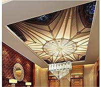 Yosot 3Dの壁紙カスタム壁画美不織天頂天井に統合された天井の壁画の Ou 壁紙パターンスタイルの壁紙-250Cmx175Cm