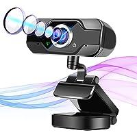 【最新のデザイン】 Webカメラ マイク内蔵 ウェブカメラ 自動フォーカス USBカメラ 高画質 フルHD1080P 3…