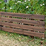 天然木製フェンス(庭のフェンス)