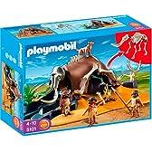 Playmobil石器時代マンモスハンターとテント5101