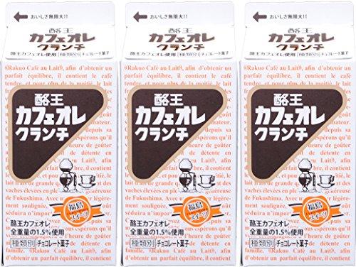 酪王カフェオレクランチ 5個入×3箱セット