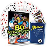Jaw Droppers 4 dvd Magic Set with magic svengali deck by Magic Makers (English Manual)