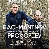 ラフマニノフ & プロコフィエフ : チェロとピアノのための (Rachmaninov, Prokofiev : Works for Cello and Piano / Johannes Moser, Cello | Andrei Korobeinikov, Piano) [SACD Hybrid] [輸入盤] [日本語帯・解説付]
