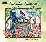 Bountiful Blessings 2018 Calendar: Free Bonus Download 12 Images Desktop Wallpaper (Deluxe Wall)