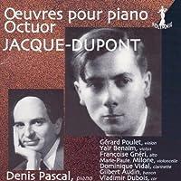 Piano Octet: Denis Pascal(P) Poulet Benaim(Vn) Gneri(Va) Milone(Vc) Vidal(Cl) Audin(Fg) V.dubois(Hr)