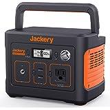Jackery ポータブル電源 400 大容量112200mAh/400Wh 家庭アウトドア両用バックアップ電源 PSE認証済 純正弦波 AC(200W 瞬間最大400W)/DC/USB出力 四つの充電方法 MPPT制御方式 車中泊 キャンプ アウト