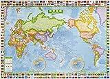 スクリーンマップ 世界全図