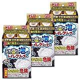 【まとめ買い】 ピクス 超強力泡でスッキリキレイ デカ盛り泡のトイレクリーナー 110g×2包入 3個セット