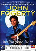 ジョン・フォガティ–ブルームーンSwamp 1997–Concertポスターplakat