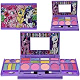 Townley Girl Hasbro My Little Pony Beauty Makeover Compact with Mirror for Girls, Including 6 Lip Glosses, 4 Blushes, 16 Eye Shadow Creams, Ages 3 and u