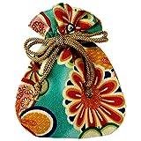 (ワコモノ) 和comono 和柄 巾着袋 ちりめん 和小物 和雑貨 和風小物 日本製 (h:菊紋柄)