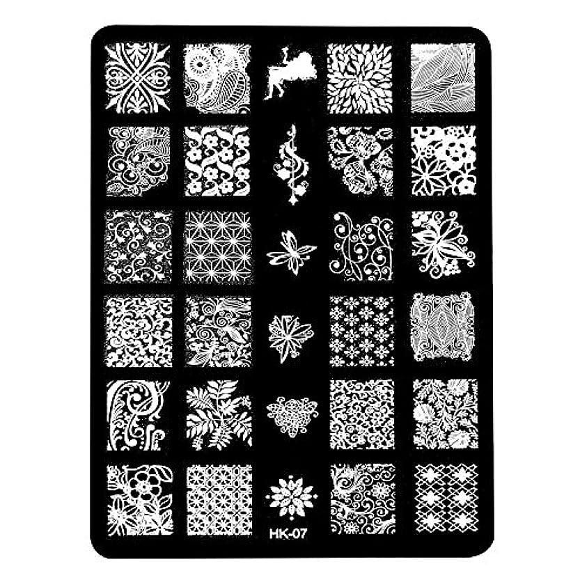 アライアンス引き金オペラ[ルテンズ] スタンピングプレートセット 花柄 ネイルプレート ネイルアートツール ネイルプレート ネイルスタンパー ネイルスタンプ スタンプネイル ネイルデザイン用品