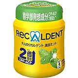 モンデリーズ・ジャパン 大人のリカルデント清涼ミントボトル 140g